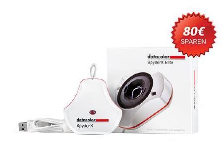 SpyderX UpGrade-Promotion - bis zu 80 € sparen