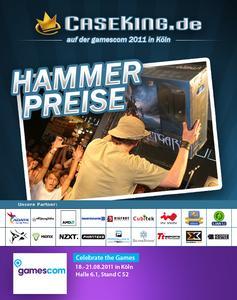 Caseking auf der gamescom 2011   Hammer Preise