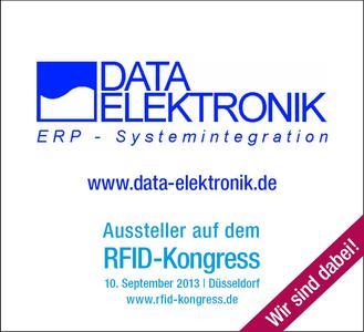 DATA ELEKTRONIK ist Aussteller auf dem RFID-Kongress 2013
