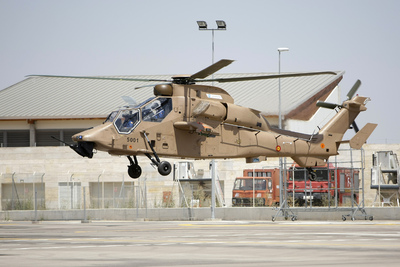 Flight tests begin for Eurocopter's Tiger HAD support and attack helicopter in Spa