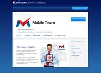 MOBILE TEAM business solution feat. mobile app and cloud solution......