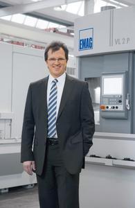 Dr.-Ing. Guido Hegener, Geschäftsführer der EMAG Salach Maschinenfabrik GmbH