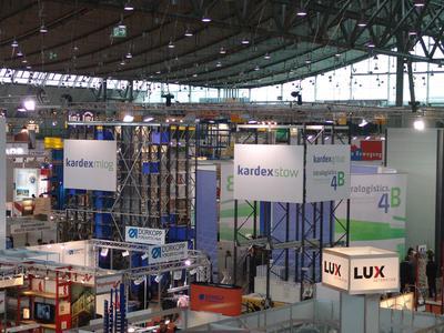 Kardex Group auf der LogiMAT 2011