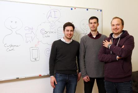 Das Team von Complero (von links nach rechts): Sebastian Harttig, Tobias Hamann und Steffen Schneider / Foto: Thomas Koziel