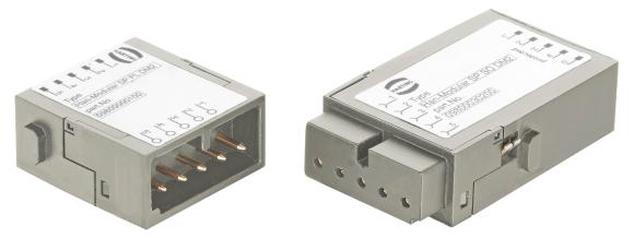 The new surge protection module from the Han-Modular® series brings surge protection into the connector and thus makes integration considerably more simple