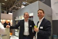 B+S Logistik mit den Geschäftsführern Stefan Brinkmann und Manuel Unkel wird 2019 auf der LogiMat und der Internet World ausstellen (Foto: B+S)