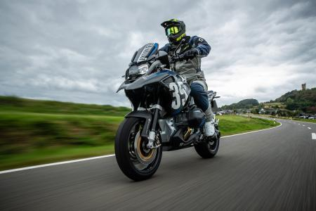 Integrated, functional design that blends perfect into the layout of the motorcycle