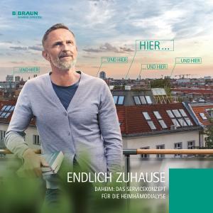 Endlich Zuhause! / Bildnachweis: B. Braun Melsungen AG