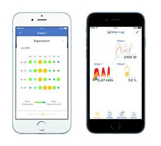 Die neue Solar-Log WEB Enerest™ App