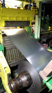 The first strip was successfully rolled and coiled on August 31, 2017