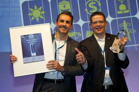 SMA CORE1 Intersolar Award 2017 - Nick Morbach, Mathias Strippel