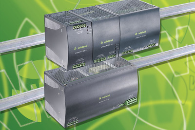 Finely incremented, robust 24 V switching power supplies