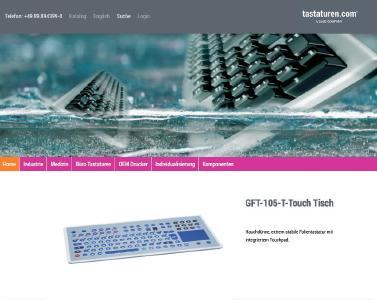 Frühjahrsputz: tastaturen.com überzeugt mit frischer Website, neuem CI und flottem Bestellprozess