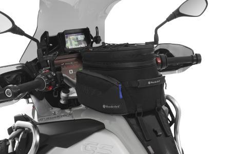 Wunderlich Tankrucksack ELEPHANT mit modellspezifischer Systemhalterung an der BMW R 1250 GS Adventure