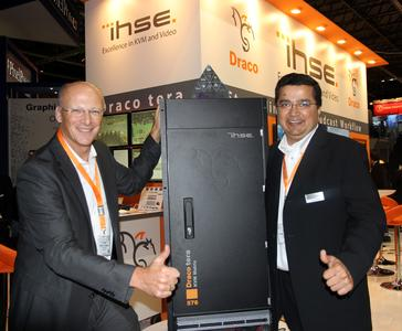 IHSE announced first sale of 576 KVM matrix at IBC 2015