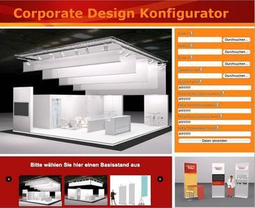 In Zusammenarbeit mit der Agentur Oberberg Online Informationssysteme GmbH haben die Designer von Zenit-Messebau GmbH einen innovativen Messestand Konfigurator entwickelt.