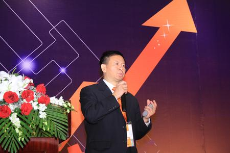 Dr. Xiao Weirong, Managing Director of B&R China, stressed the importance of energy efficiency and intelligent automation for manufacturing companies at the User Meeting in Shanghai.