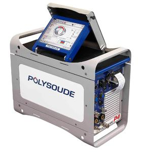 The P4 Orbital Welding Power Source with XXL touch screen, providing a truly interactive man-machine interface