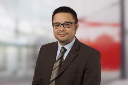 Edwin Maringka - Bereichsleiter Materialwirtschaft