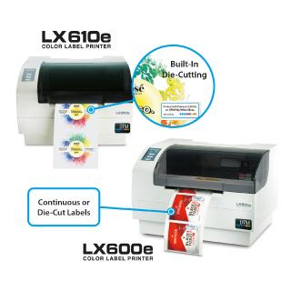 LX610e Pro & LX600e - the new dream team for the production of short runs of high-quality labels