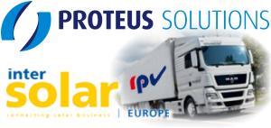 Messeplanung Intersolar Europe 2012 - Aufbauteam im Einsatz
