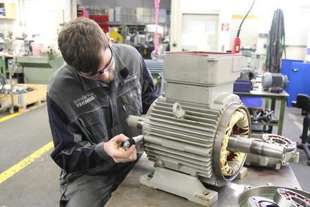 Die Instandhaltung und Instandsetzung von Motoren gehört für die Abteilung Elektrotechnik der ISGT zum Kerngeschäft – jetzt gibt es sogar eine Kooperation mit Siemens.