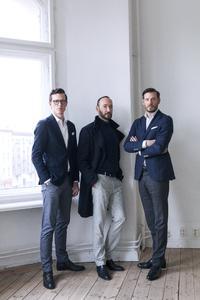 Jonathan Herrle, Bodo Sperlein und Mark Huesges