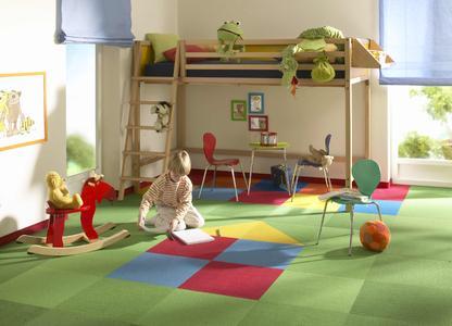 tretford-interland und kinderzimmer - eine ideale kombination ... - Kinderzimmer Teppichboden