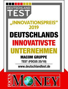 macom Innovationspreis 2019