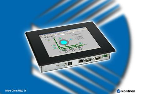 Panel PC Micro Client Mac 70