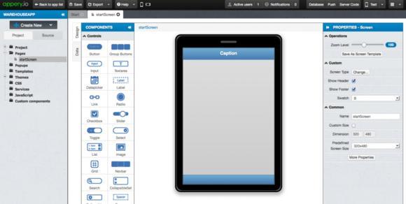 UI-Builder im Browser
