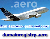 Aero-Domains: Good names for virtual aviation, but only at conditions available