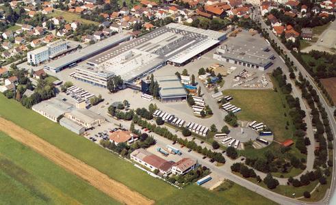 Luftaufnahme Werk Pilsting