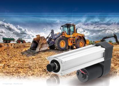 Elektrohubzylinder von Rodriguez bewähren sich in verschiedensten Anwendungsbereichen– unter anderem auch in der Bauwirtschaft