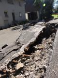 Straßenschaden in Braunsbach (Adrian Riemer)