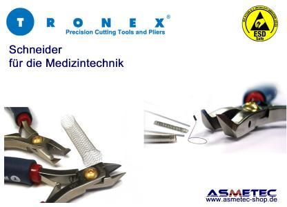 Tronex Anwendung Medizintechnik
