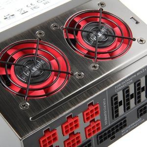 Xilence XQ semipassives Netzteil, 80Plus Platinum, modular   850 Watt 3