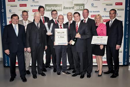 Die Gewinner des »kfz-betrieb«-Vertriebs-Award 2013