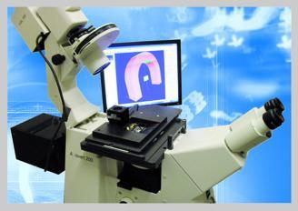 """Die Funktionsweise des Mikrofertigungssystems basiert auf der so genannten """"Zwei-Photonen-Absorption"""" (Foto: Teem Photonics)"""