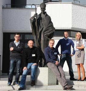 MBA-Fernstudierende am Standort Augsburg