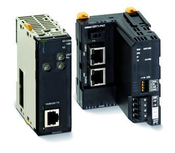 Der CJ1-I/O-Controller und das SmartSlice-I/O-Device bieten Hochgeschwindigkeits-Datenaustausch und standardisierte Meldungs-Kommunikation.