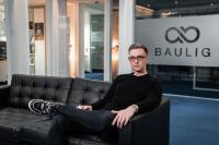 Andreas Baulig in seinem Office in Koblenz