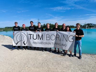 Mit Unterstützung von LAPP will das Studierendenteam der TU München die schnellste Tunnelbohrmaschine der Welt bauen