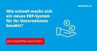 ROI-Rechner für mehr Klarheit bei der ERP-Investition