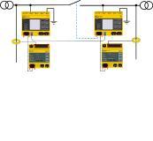 Bild 1: Isolationsfehlersuche in gekoppelten Netzen