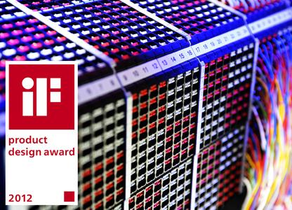 "Weidmüller's Terminal blocks set the design standards and were honored with a prestigious ""iF product design award 2012"""