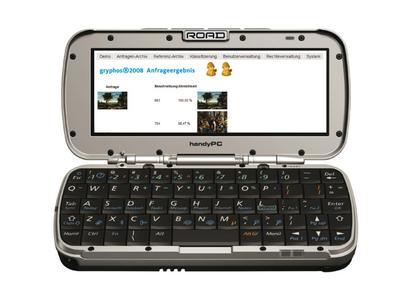 gryphos2008 ist ein Bildübertragungs- und erkennungssystem, das in der Lage ist, Bilder von mobilen Endgeräten auszuwerten
