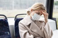Schlecht Luft im Bus