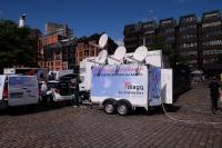 Filiago Mobiles Satelliteninternet für Events