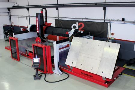 Bei den CNC gesteuerten Bearbeitungszentren der Reihe